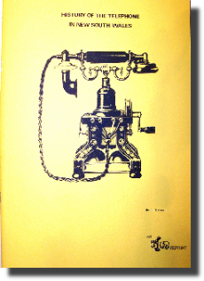 History of the Telephone in NSW by Jim Bateman